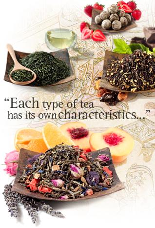 Types-tea